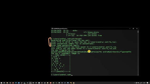 How to remote SSH to Ubuntu Server 20.04 root Without Password From Windows Command Prompt