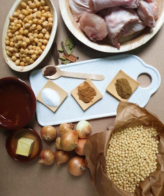 Mograbieh Ingredients