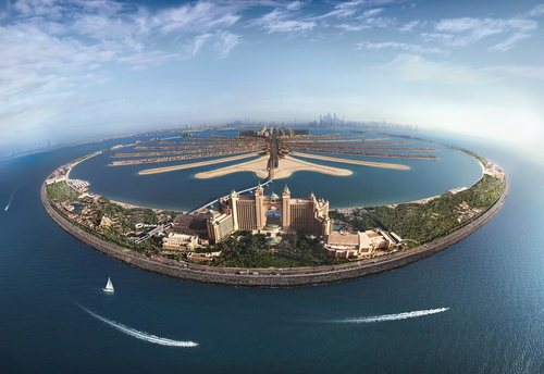artificial island Dubai