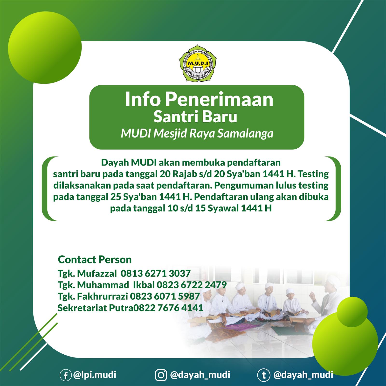 Info Pendaftaran