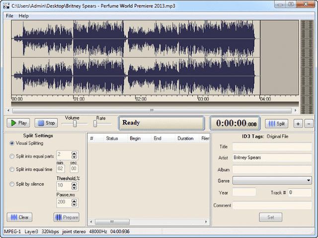Screenshot Adrosoft AD MP3 Cutter 2.3.1 Full Version