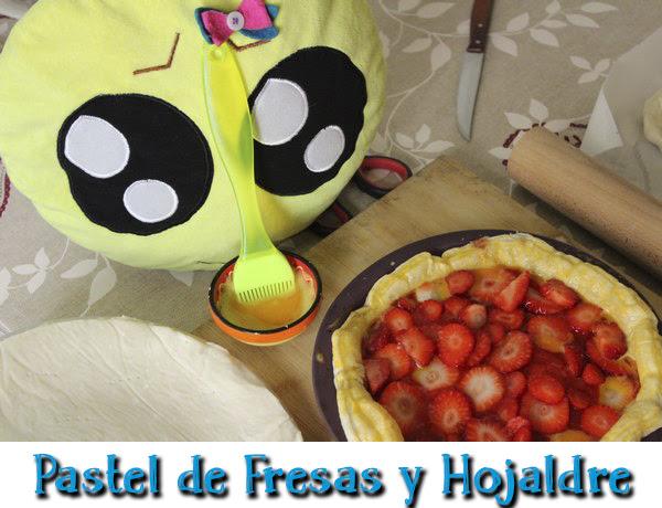 Cómo hacer un pastel de fresas y hojaldre paso a paso