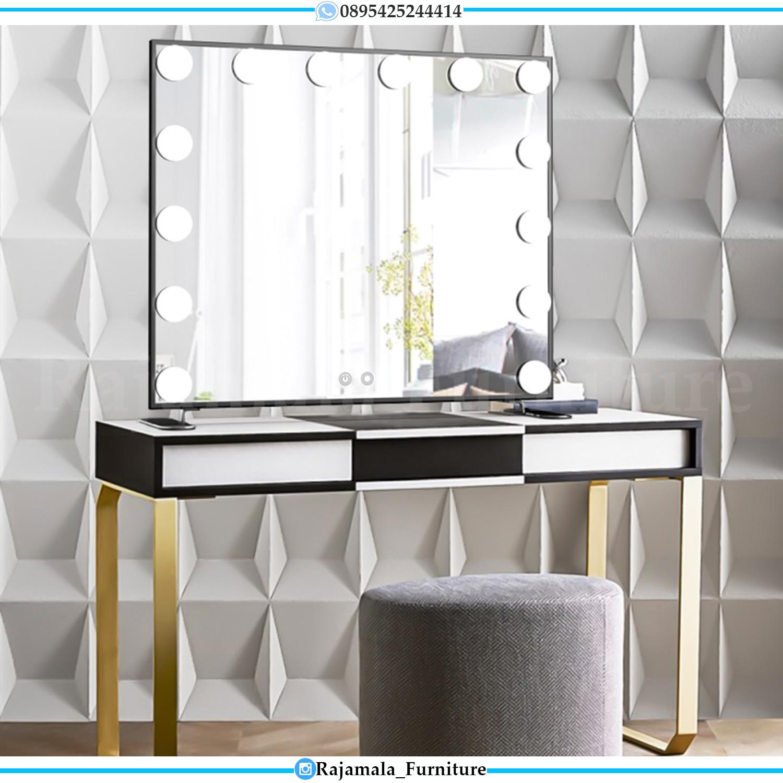 Meja Rias Lampu Minimalis Luxury Simple Elegant Style Jepara RM-0163