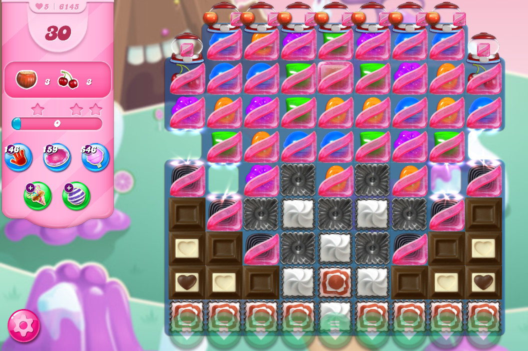 Candy Crush Saga level 6145