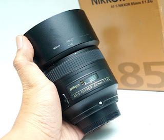 Nikon AF-S 85mm f1.8G Bekas