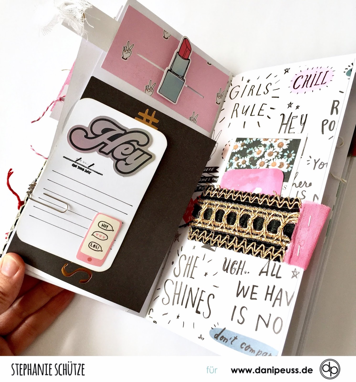 kit mini album scrapbooking