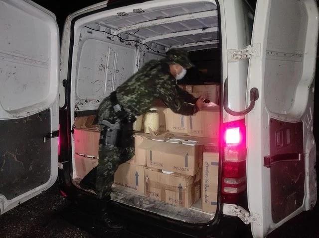 Policia Ambiental flagra Transporte ilegal de Palmito Juçara industrializado