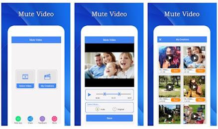 تطبيق Mute Video Silent Video