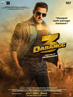 Poster of Dabangg 3 movie