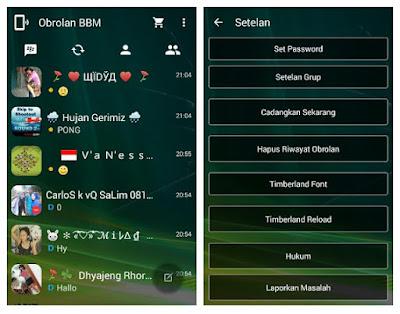 BBM MOD TRANSPARENT Versi 2.9.0.49 APK