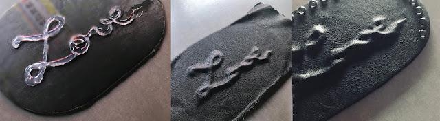 Les trois étapes de la création d'un empiècement en simili cuir
