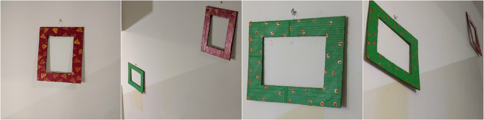 Creative Fish At Work: How to make photo frames in under 30 minutes