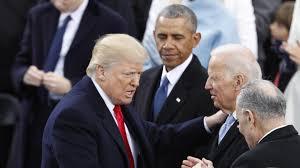 Pic on Trump Leaving US