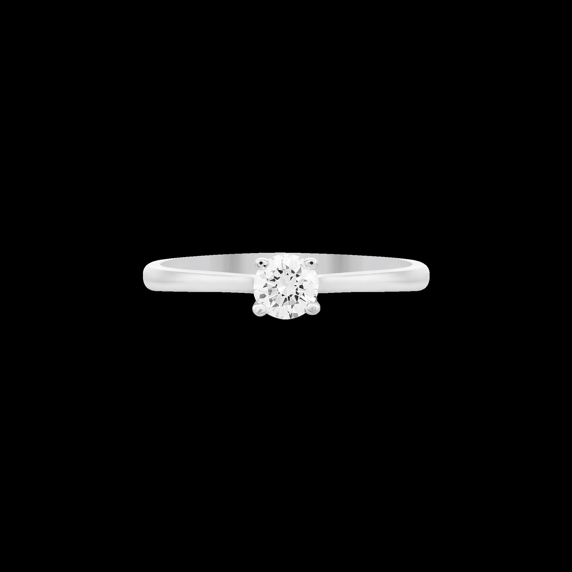 Nhẫn Kim cương Vàng trắng 14K PNJ DD00W000428