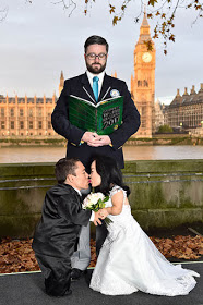 World's Smallest Married Couple Visits Guiness Book Of Records HQ