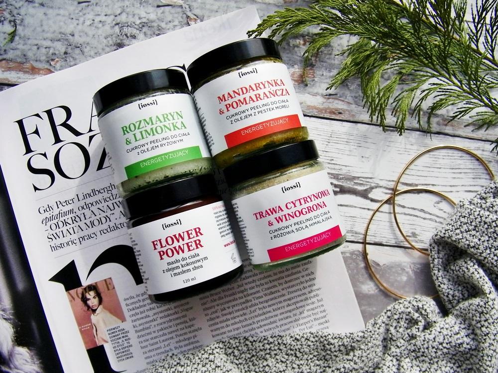 Iossi kosmetyki naturalne, peeling i masło do ciała