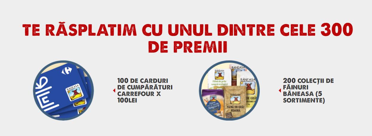 Concurs - Castiga 300 de premii cu Faina Baneasa - concursuri - online
