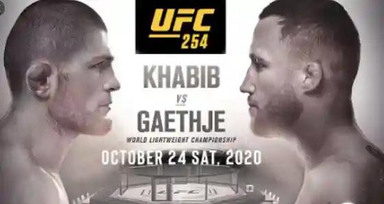 القنوات الناقلة لنزال حبيب نورمحمدوف وغايتجي توقيت وموعد نزال Khabib vs Gaethje