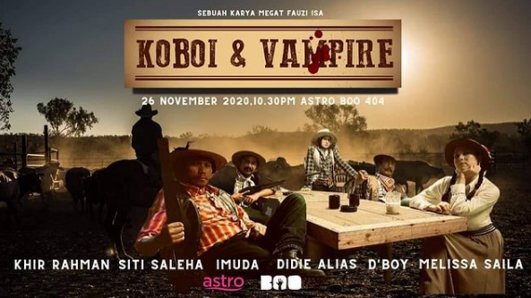 TELEFILEM KOBOI & VEMPIRE FULL MOVIE