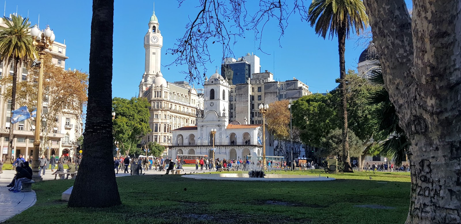 Plaza de Mayo, Buenos Aires in Argentinië
