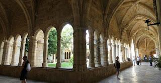 Claustro de la Catedral de Santander.