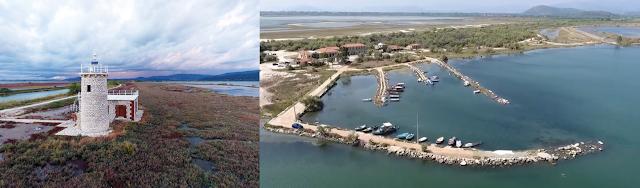 Το ιστορικό λιμάνι και ο Φάρος της Κόπραινας