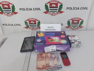 Polícia Civil esclarece furto qualificado na cidade de Cajati