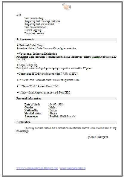 over 10000 cv and resume samples with free download  computer engineering resume format download