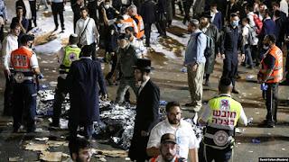 Puluhan Orang Tewas Berdesakan di Festival Keagamaan Israel
