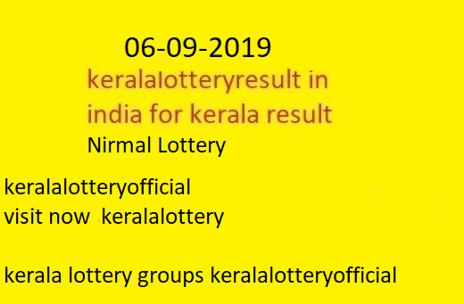 kerala lottery today result chart kerala lottery winning