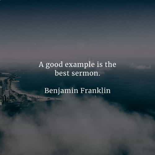 Famous quotes and sayings by Benjamin Franklin
