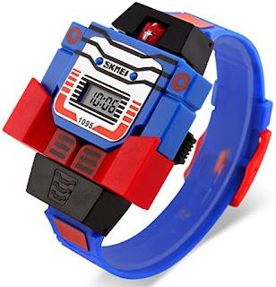 Regalo di natale orologio Transformer