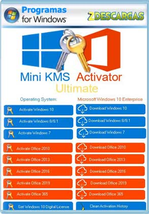 Mini Kms Activator Ultimate 2 0 2020 Full Mega Zdescargas