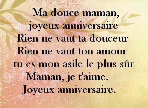 Proverbe Damour Pour Sa Maman Poeme Joyeux Anniversaire