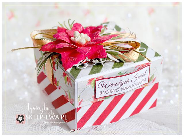 Świąteczne pudełko na świeczki