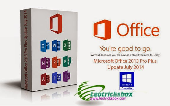 PC Software : MS Office 2013 Updated ~July 2014 + Activator