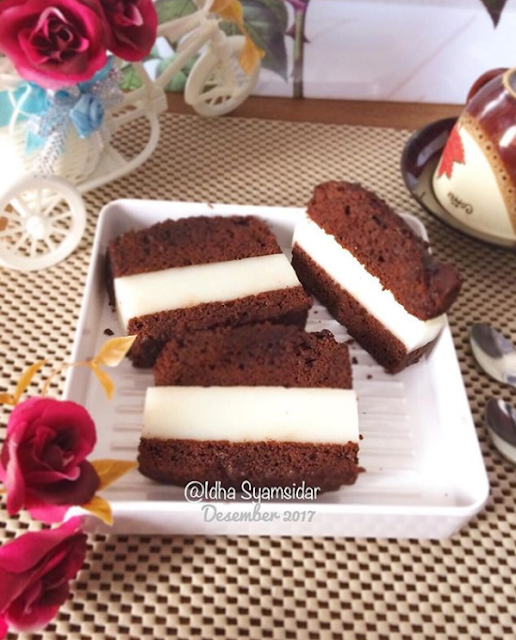 Gambar Brownies Pudding