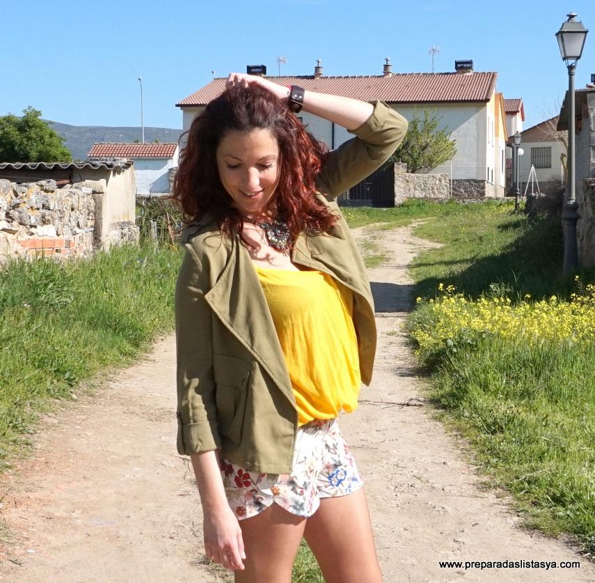 Amarillo y verde milar