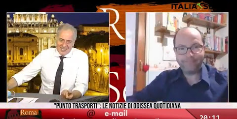 Punto Trasporti - Odissea Quotidiana e Roma di Sera 24/4/2020