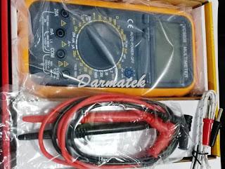 Jual Multimeter VC-9808 Capacitance Meter