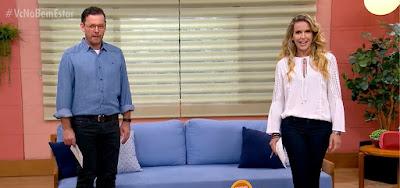 Fernando Rocha e Mariana Ferrão no Bem Estar