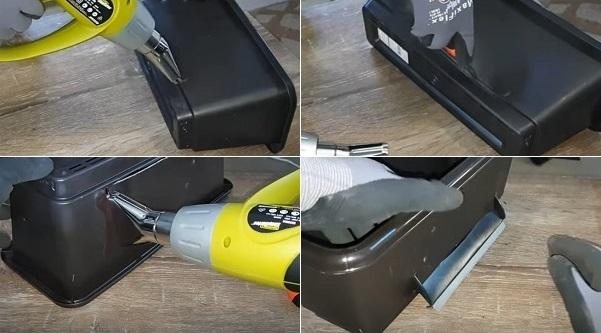 Heat Gun for Softening Plastic