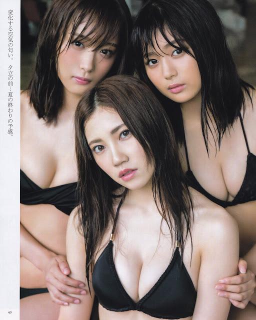SKE48 Natsuki Kamata Ryoha Kitagawa Gravure Ruka Kitano 001