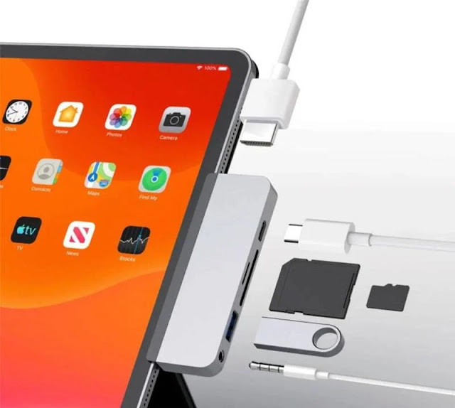 HyperDrive 6-in-1 USB-C Hub for iPad Pro and Air