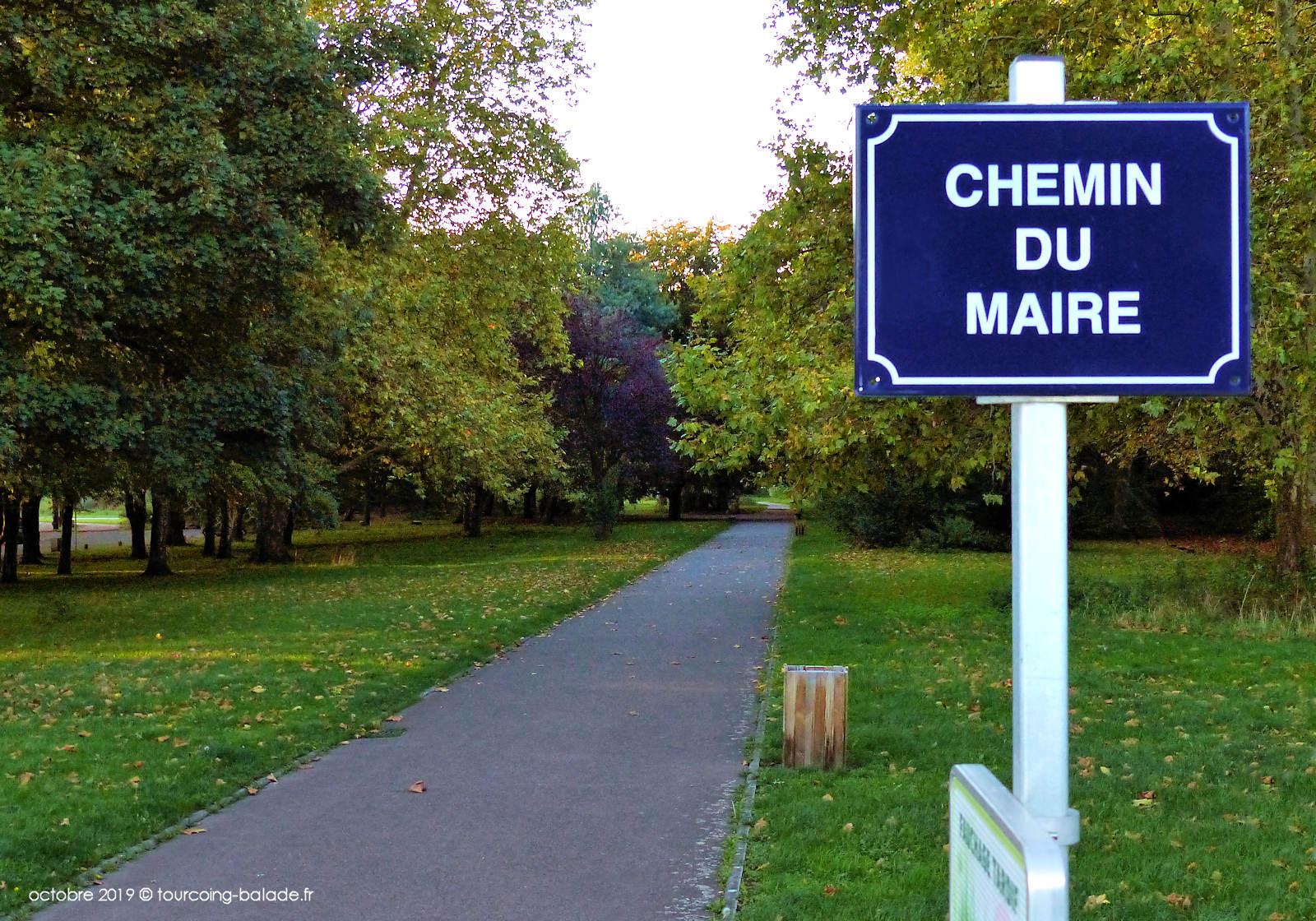 Chemin du Maire, Tourcoing - Rue et Parc de l'Yser.