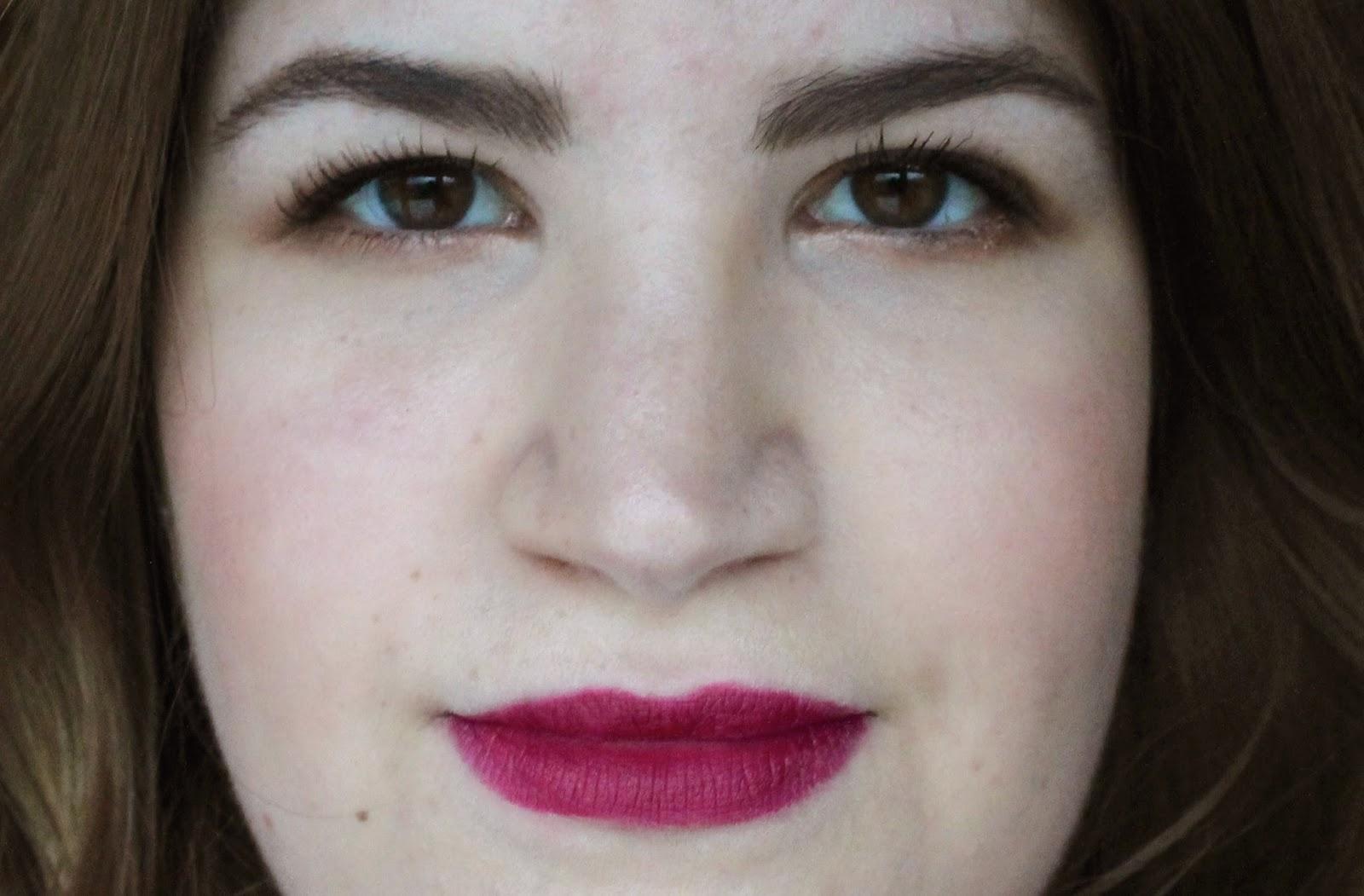 Mac Rebel Lipstick Swatched