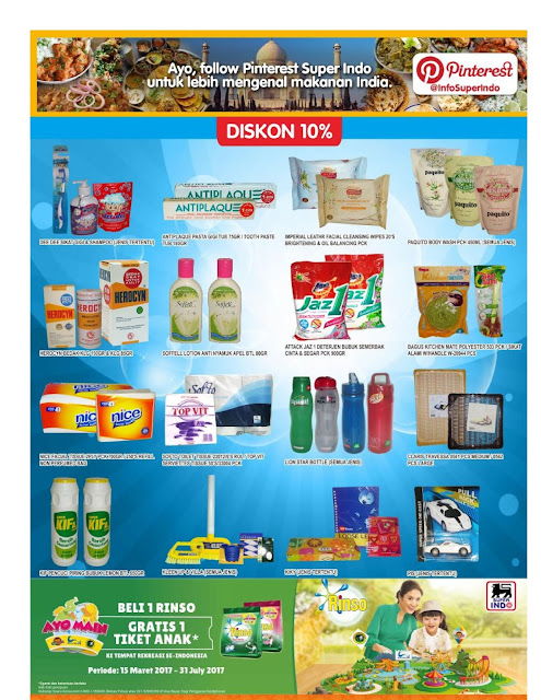 Katalog Super Indo Bandung Sukabumi Cirebon Mojokerto Kediri Jombang