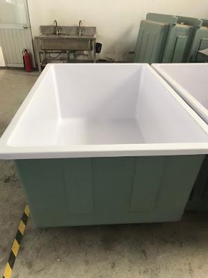 thùng nhựa cách nhiệt frp