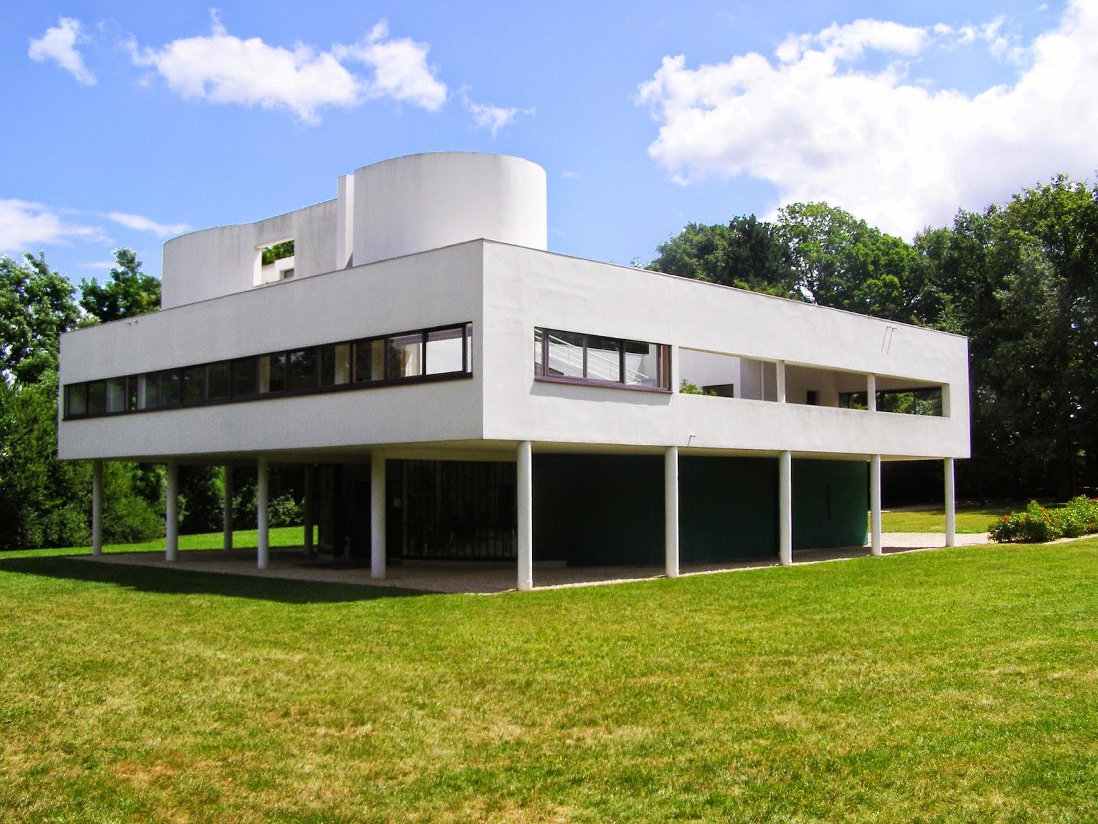 Artchist villa savoie in poissy le corbusier - Arquitecto le corbusier ...