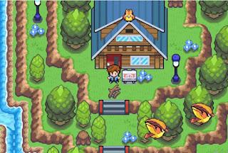 Pokemon Brillo Purpura/Eclat Pourpre Español Imagen Principio del Juego